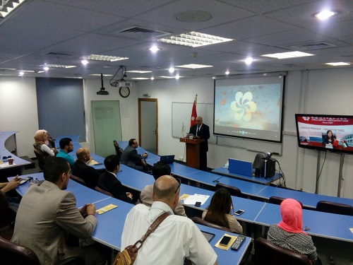 Talal Abu-Ghazaleh Organization organizes introductory session for Canton Fair at TAG-Confucius
