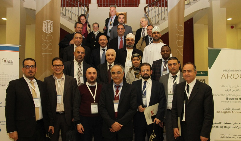 HE Dr. Talal Abu-Ghazaleh heads the annual meeting of the shareholders of the Arab States Research and Education Network (ASREN) at the American University in Beirut.