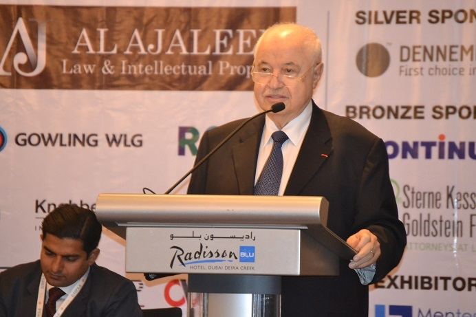 HE Dr. Talal Abu-Ghazaleh takes part in the 3rd Dubai IP Congress 2017, during which he stressed that the world is witnessing the dawn of a new era in the IP history.