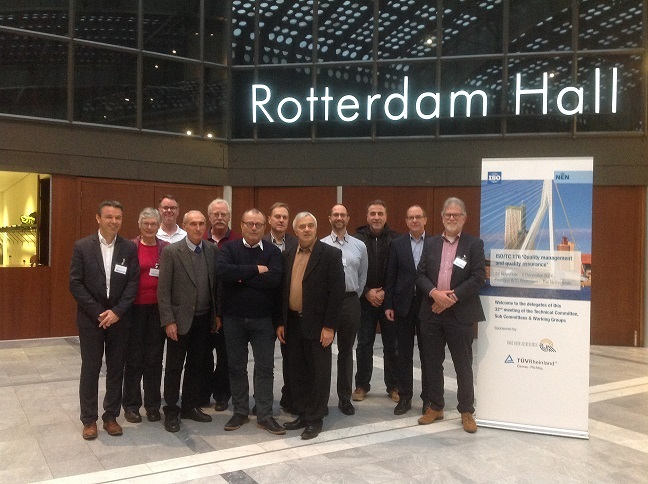 Talal Abu-Ghazaleh Organization represents AIMICT at ISO/TC 176 meetings in  Rotterdam