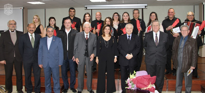 "Under the Patronage of HE Dr. Talal Abu-Ghazaleh and the presence of HRH Princess Dana Firas, JOrchestra organizes a special ""Solo Concert"" at Talal Abu-Ghazaleh Knowledge Forum"