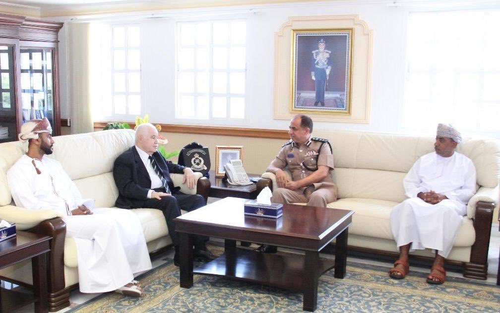 Director General of Sultanate of Oman's Customs Receives Abu-Ghazaleh