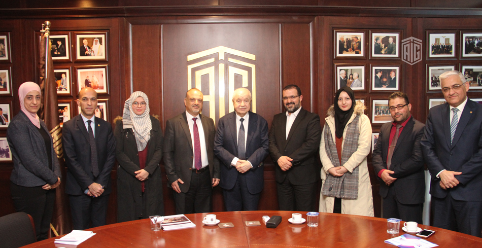 Abu-Ghazaleh Discusses with ENGAGE Means to Support Gifted Special Needs Palestinians