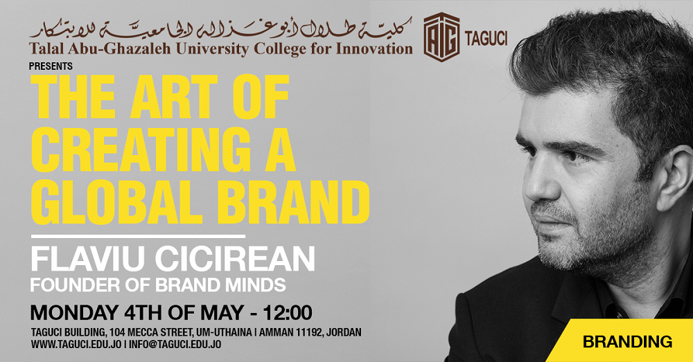 "'Abu-Ghazaleh University College for Innovation' Remotely Delivers ""The Art of Creating Global Brand"" Lecture"
