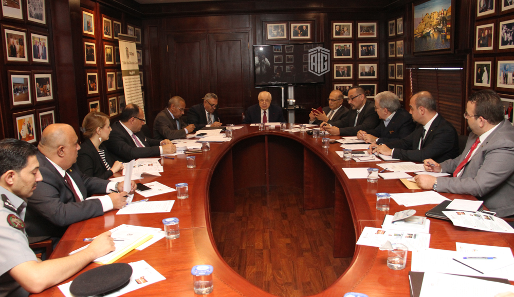 Abu-Ghazaleh Chairs the 9th Meeting of the Joint Board for Military Development and Innovation