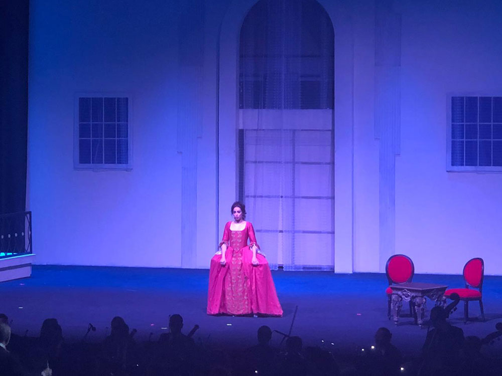 Abu-Ghazaleh Applauds Zeina Barhoum's Performance in Rossini's 'Barber of Seville' Opera