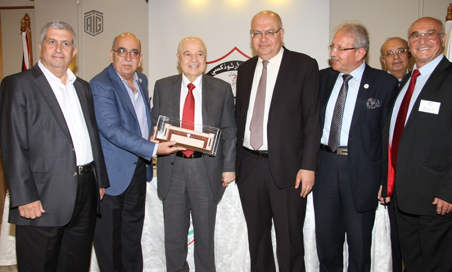 Orthodox Club Hosts Abu-Ghazaleh for an open discussion