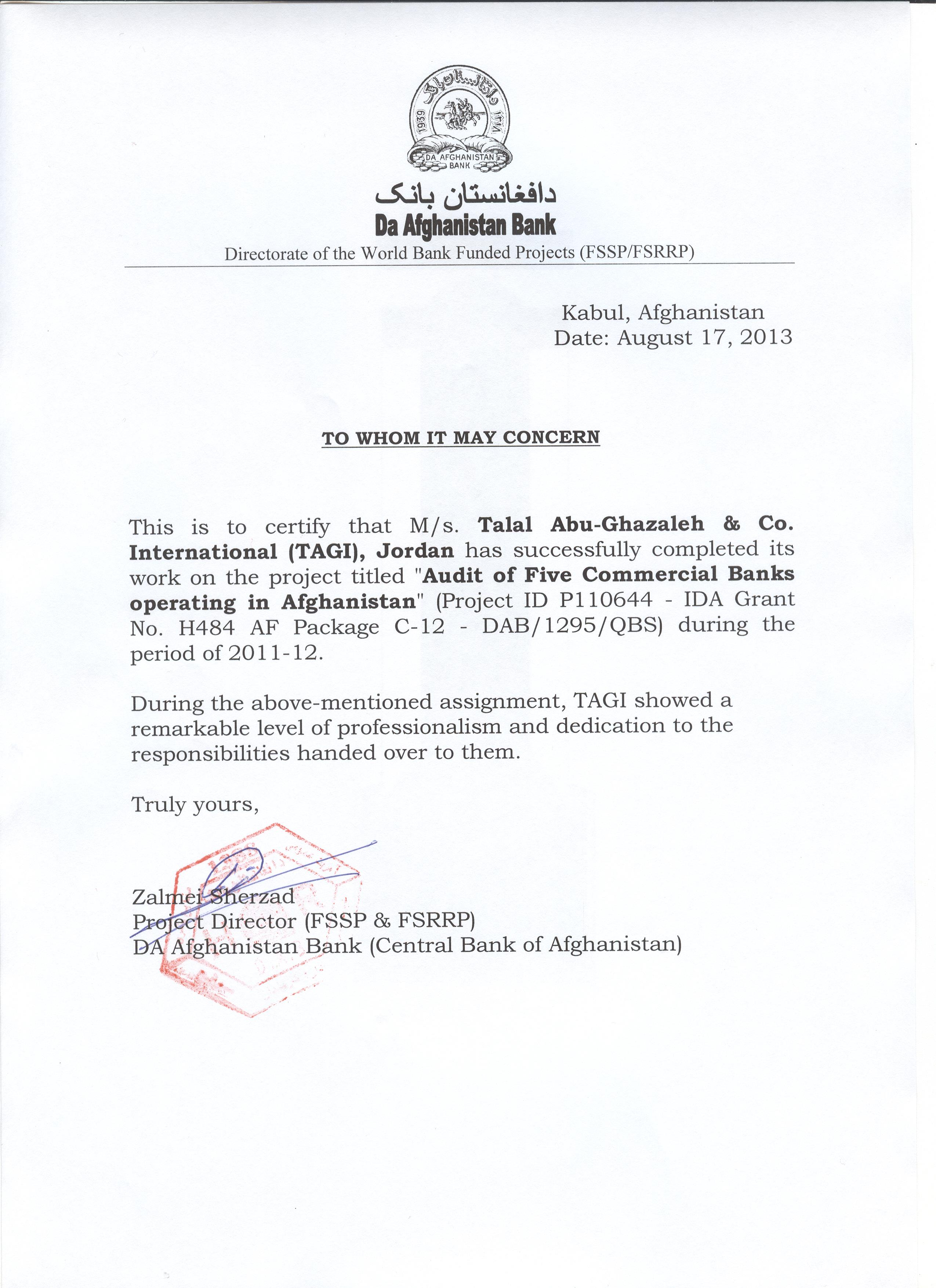 talal abu ghazaleh international press and publishing thanks letters a thank you letter from mr supachai panitchpakdi secretary general of unctad to he dr talal abu ghazaleh