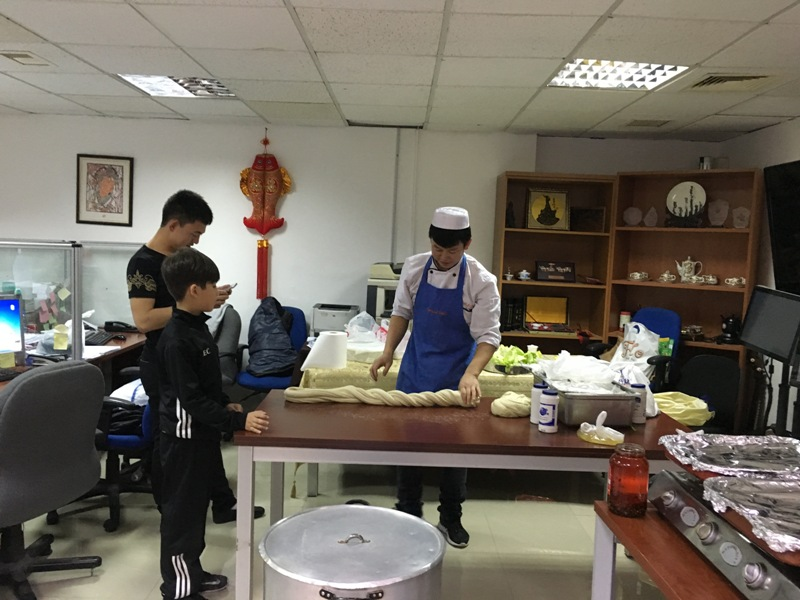 TAG-Confucius organizes a Chinese-Arabic food Tasting Day