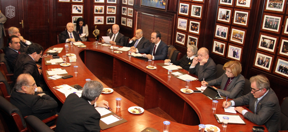 HE Dr. Talal Abu-Ghazaleh chairs the joint meeting of the consultative and presidential council of the EPDF to discuss the 2016 programs