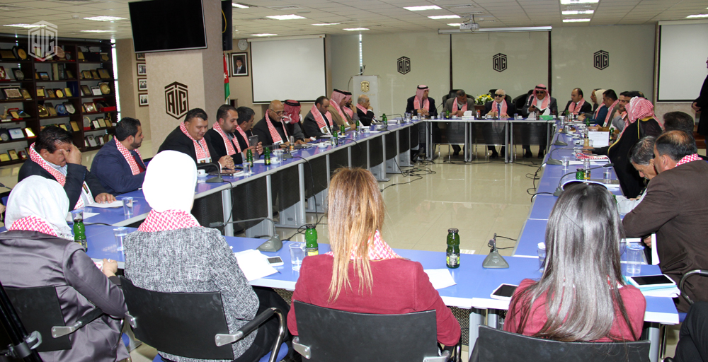 HE Dr. Talal Abu-Ghazaleh Receives a Delegation from Ma'an to review and study   TAG-Org