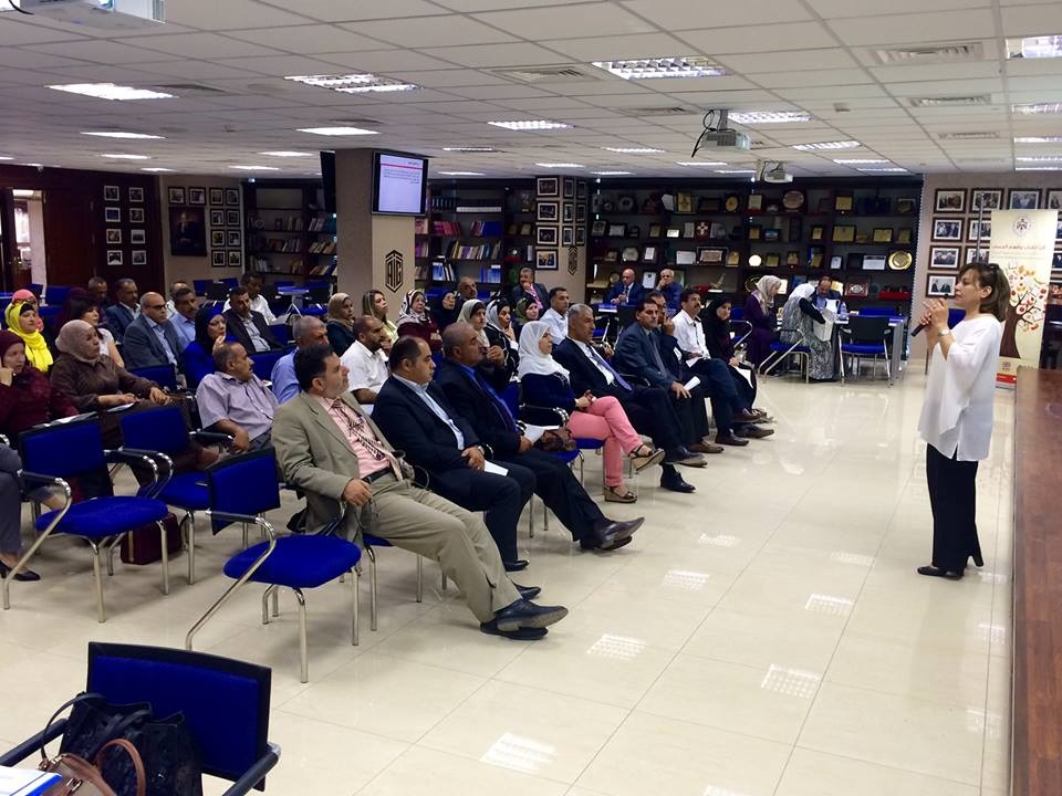 Talal Abu-Ghazaleh Knowledge Forum hosts a meeting for the Early Grade Reading and Math Project (RAMP) Initiative