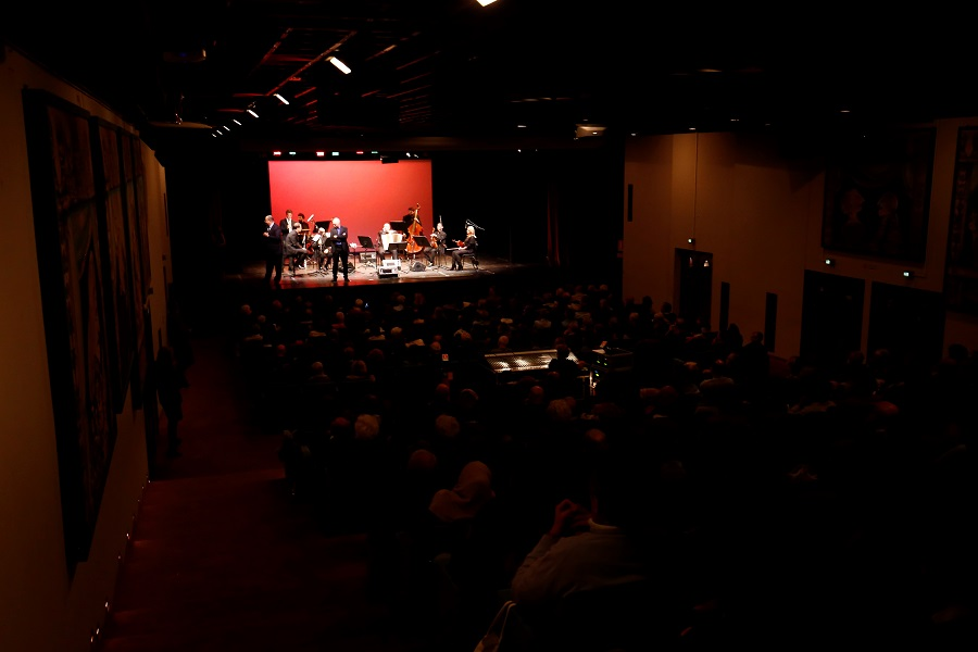 Deputizing for HE Dr. Talal Abu-Ghazaleh, Mr. Luay Abu-Ghazaleh, vice chair of Talal Abu-Ghazaleh Organization and CEO-Managing Partner of Abu-Ghazaleh Intellectual Property attends a special concert at Teatro Piccolo Regio of Turin/Italy