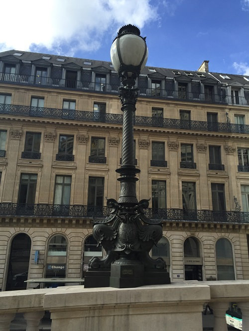 """The world famous Opera House """"Palais Garnier"""" in Paris posted the name of Talal Abu-Ghazaleh on one of the main Chandelier post at the """"Ramp de l'Empereur"""" at its entrance."""