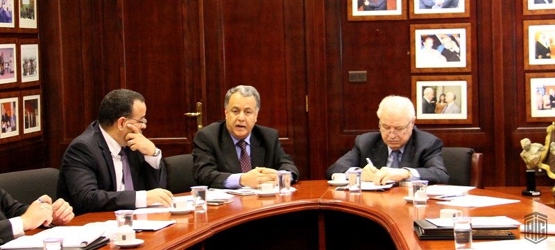 HE Dr. Talal Abu-Ghazaleh, hosts Secretary General of the Council of Arab Economic Unity (CAEU) of the League of Arab States HE Ambassador Mohammad Al Rabie, to  discusses a number of issues and joint projects