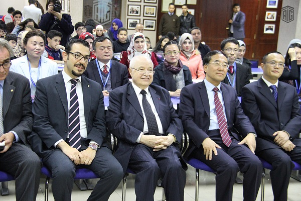 TAG-Confucius Institute organizes the first contest in Jordan for writing and dictation skills in Chinese language, in the presence of the Chinese Ambassador to Jordan Mr. Pan Weifang