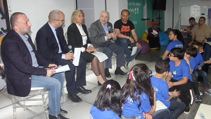 Under the Honorary Patronage of HE Dr. Talal Abu-Ghazaleh, the Kids Pitching Demo Day crowning event, sponsored by Orange, was held to honor young children programmers for developing innovative mobile applications.