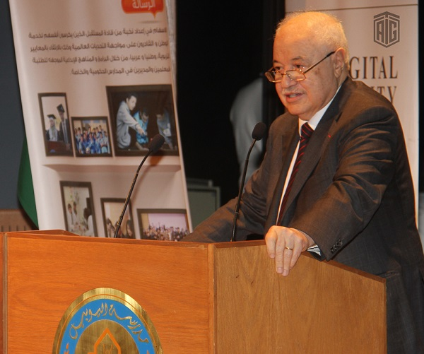 HE Dr. Talal Abu-Ghazaleh Patronizes Arab Youth Competition for Creative Electronic Design 'Jubitech 13' at Jubilee School