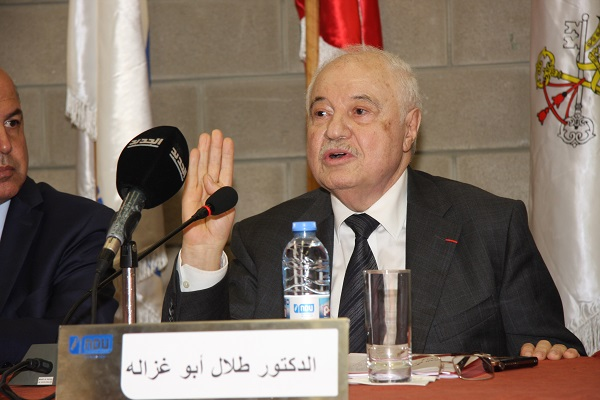 """HE Dr. Talal Abu-Ghazaleh heading seminars organized by Notre Dame University- Louaize (NDU) on """"The Role of Technology in Building the State"""""""