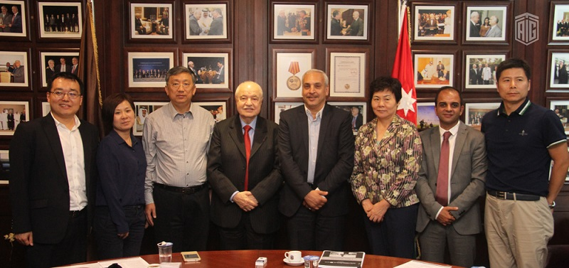 HE Dr. Talal Abu-Ghazaleh received Chinese journalists delegation to discuss promoting relations with China