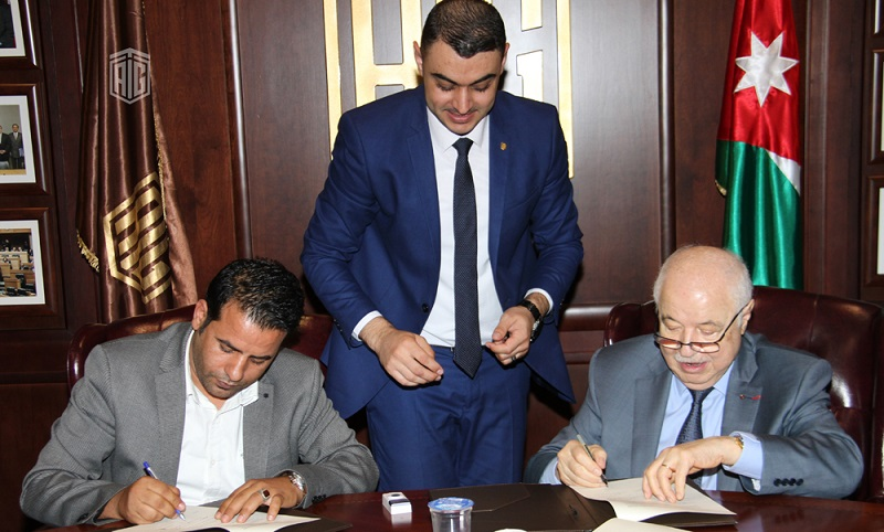 HE Dr. Talal Abu-Ghazaleh, and President of Malibero Company Eng. Aymen Omar signed a cooperation agreement to train 20,000 graduates on ICT skills in Jordan