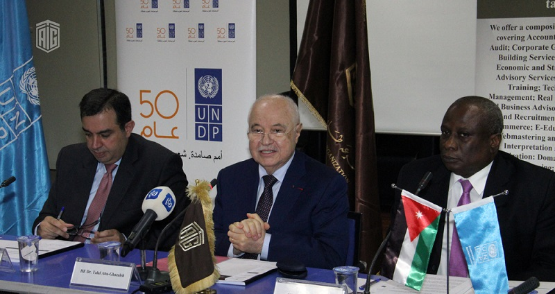 """The Ministry of Planning and International Cooperation launched a study on the """"Indirect Impact of the Syrian Refugee Crisis on the Jordanian Economy"""" funded by the United Nations Development Programme UNDP, and prepared by Talal Abu-Ghazaleh & Co. Consul"""