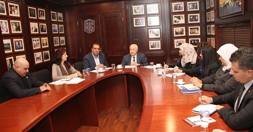 "Meeting of Talal Abu-Ghazaleh Knowledge Forum's ""Transformation into a Knowledge-based Society"""