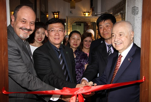 Inauguration of the new offices of TAG-Confucius Institute under the patronage of the Executive Deputy Director General of Hanban and HE Dr. Talal Abu-Ghazaleh, in the presence of President of Shenyang University