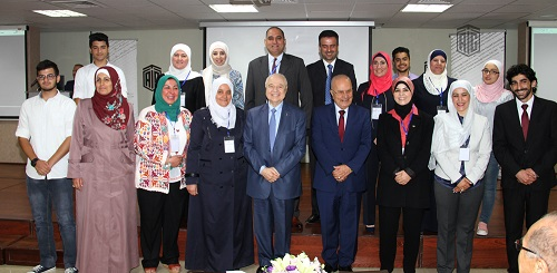 """Talal Abu-Ghazaleh Knowledge Forum holds the """"Developing Education is the Core for Reforms"""" conference in the presence of HE Dr. Talal Abu-Ghazaleh and HE Dr. Adnan Badran"""