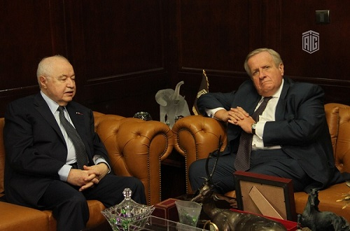 HE Dr. Talal Abu-Ghazaleh and the Italian Ambassador to Amman HE Mr. Giovanni Brauzzi to join forces for the safeguard of the Jordanian Archeological Heritage
