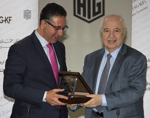 """Talal Abu-Ghazaleh Knowledge Forum hosts Minister of Industry in a session held under the theme """"Challenges facing the Industrial Sector in Jordan"""""""
