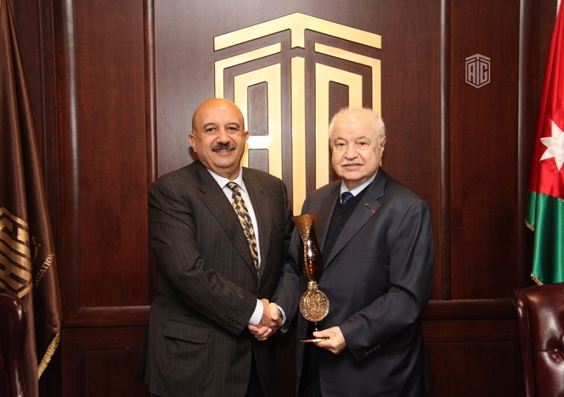 HE Dr. Talal Abu-Ghazaleh received Mr. Cengiz Özgendil the founding president of the International Cooperation Platform (ICP) which organizes the Bosphorus Summit