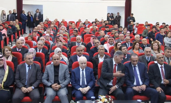 HE Dr. Talal Abu-Ghazaleh opens knowledge center at the Al-Huson Cultural Center