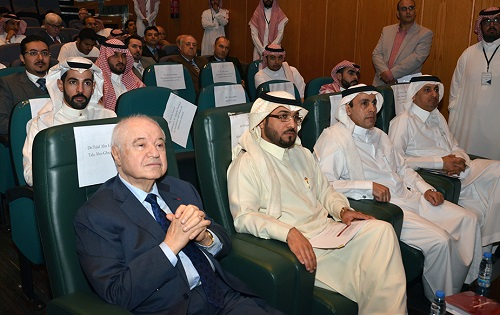 HE Dr. Talal Abu-Ghazaleh Keynote Speaker at Prince Sultan University (Riyad)