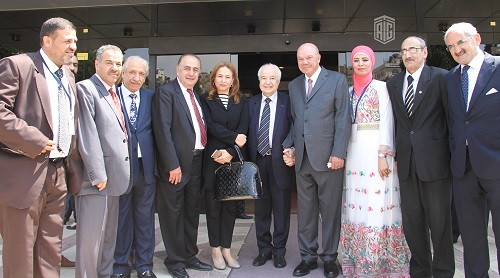 "HE Dr. Talal Abu-Ghazaleh chairs the National Cultural Conference's session entitled ""Culture of Community Service"""