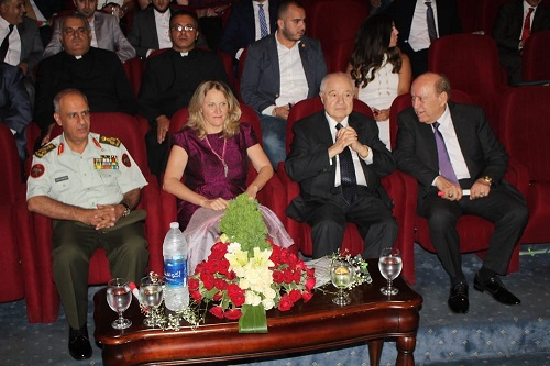 HE Dr. Talal Abu-Ghazaleh joins the Lebanese Army's 73rd Anniversary celebration as a Guest of Honor