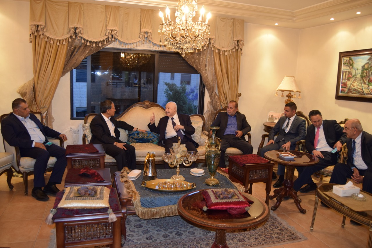 MP Abu Rumman Hosts Abu-Ghazaleh in Honor of Chinese Ambassador to Jordan