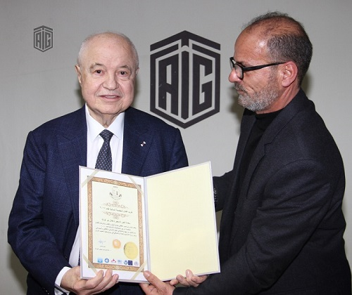 Abu Nusair Cultural Forum honors HE Dr. Talal Abu-Ghazaleh as the Best Personality of 2017