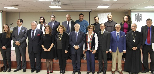 "HE Dr. Talal Abu-Ghazaleh and Italian Ambassador HE Mr. Giovanni Brauzzi launch ""Italy, Cultures, Mediterranean"" Program"