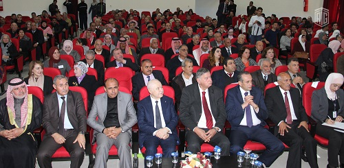 His Excellency Dr. Talal Abu-Ghazaleh opens knowledge center at the Al-Huson Cultural Center and meets representatives of government entities, civil society and youth organizations