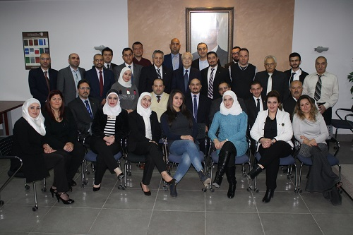 HE Dr. Talal Abu-Ghazaleh visits Talal Abu-Ghazaleh Organization's offices in Damascus and discusses ways of developing the Organization's services in Syria