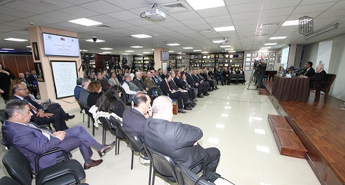 "Abu-Ghazaleh Knowledge Forum Hosts Al-Khairallah in ""Prospects of the Strategic Relations between Iraq and Jordan"" Seminar"