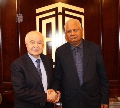 Abu-Ghazaleh Receives Afghan Ambassador to Jordan, Discusses Office Expansion in Kabul