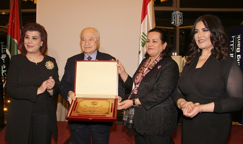 Abu-Ghazaleh the Honorary President of the Jordanian-Iraqi Amity Assembly
