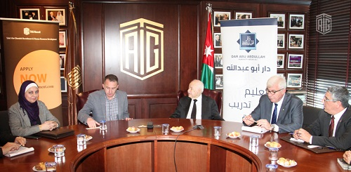 Talal Abu-Ghazaleh Organization and 'Dar Abu Abdullah' Sign Agreement to Build Capacities of Jordanian Youth