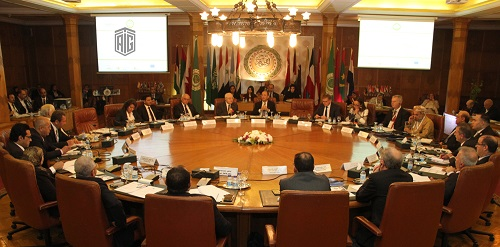 HE Dr. Talal Abu-Ghazaleh chairs the Annual Meeting of the Arab Quality Assurance Organization in Education which was held at the Arab League headquarters