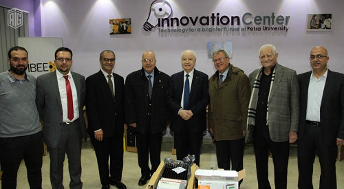 HE Dr. Talal Abu-Ghazaleh inaugurates Business Incubator at the University of Petra