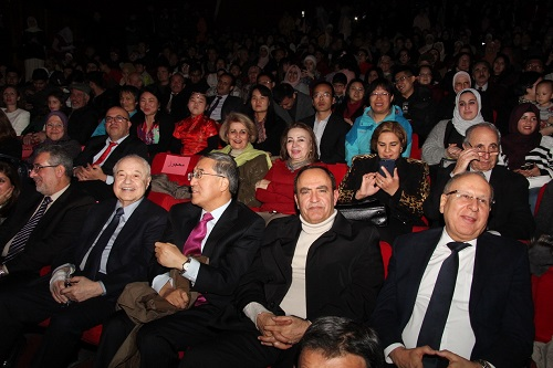 Abu-Ghazaleh Attends Chinese Embassy's Ceremony Celebrating Spring Festival