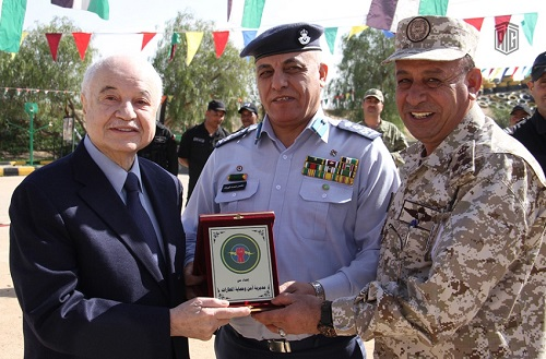 Abu-Ghazaleh Participates in Graduation Ceremony of Airport Security and Protection Directorate