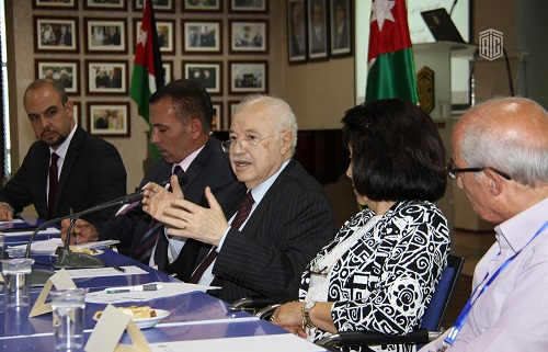 HE Dr. Talal Abu-Ghazaleh Patronizes National Youth Conference's Panel Discussion